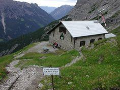 Lechtal - Bretterspitze Kaufbeurer Haus Hinterhornbach