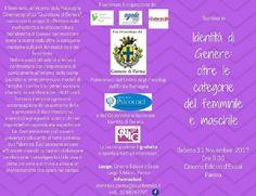 L11 novembre a Parma Identità di Genere: oltre le categorie del femminile e maschile