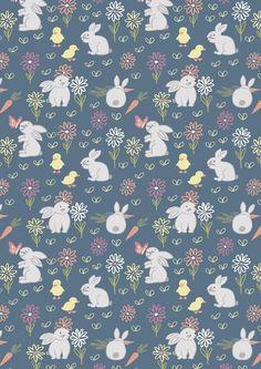 Lewis & Irene Spring/Summer 2016 'Bunny Garden' fabric collection www.lewisandirene.com