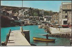 The River at Looe, Cornwall, 1964 - Harvey Barton Postcard