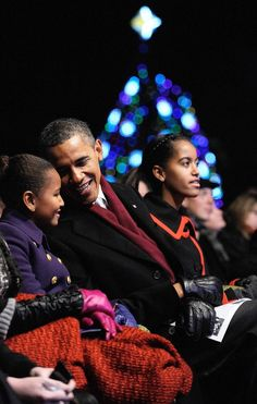 The most heartwarming pictures of the first family since election night 2008.