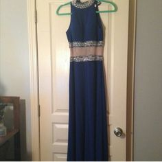 Prom dress Royal blue prom dress in very good condition need to sell soon! Willing to negtiate on price Dresses Prom