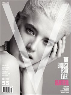 Magazine photos featuring Agyness Deyn on the cover. Agyness Deyn magazine cover photos, back issues and newstand editions. V Magazine, Magazine Covers, List Of Magazines, Agyness Deyn, Clever Advertising, Flawless Face, Cover Model, Photo Hosting, L'oréal Paris