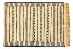 Handwoven Berber Kilim Rug from Morocco traditional-rugs Traditional Rugs, Textile Patterns, Kilim Rugs, Off White, Hand Weaving, Texture, Wood, Crafts, Design