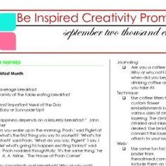 creativity prompts