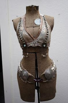 Bespoke Professional Tribal Belly Dance Costume by SnakeChurch, $600.00