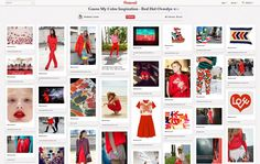 """Contest Winner for """"Red Hot Overdye""""- Kimberly Locsin http://pinterest.com/klocsin/guess-my-color-inspiration-red-hot-overdye/"""
