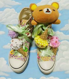 Plushies On Your Favorite Sneakers!