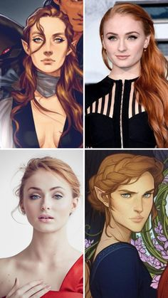 My Fancast for the A Court of Thorns and Roses Hulu TV Show – Morgan Vega