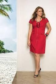 Resultado de imagen para vestidos de diario rojo bordado verano 2016