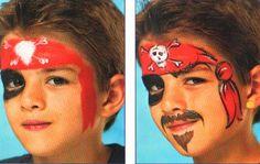 Скоро Праздник: Аквагрим - Пират