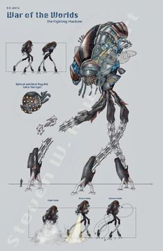 concept art drawing alien legs - Google Search