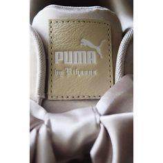 d0eef701c2c Puma Shoes | Fenty Puma Rose Gold Bow Sneakers | Color: Gold | Size: 9.5