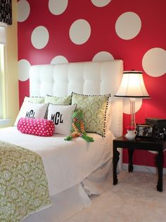 6 Easy Ways To Decorate With Polka-Dots Around The House
