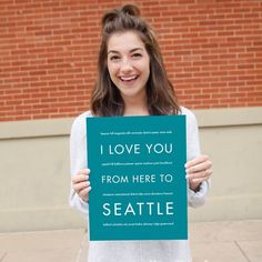 No matter how far you travel from your favorite Washington city, keep Seattle close to your heart with this unique #art print. This modern art is a wedding #gift or housewarm... #canvas_print #college #giclee #home_decor #love_art #print #seattle_art #seattle_art_print #seattle_decor #seattle_gift #seattle_poster #seattle_travel #teal #travel_artwork #travel_poster #usa #washington_state ➡️ http://jto.li/aaMqB