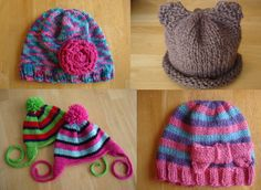 10 Adorable Hats For Special Little People (Free knitting patterns)