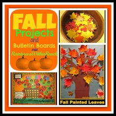 Leaf Projects and Bulletin Boards for Fall (via RainbowsWithinReach)