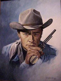 Early Western Movies | Portrait of early western star Tim Holt by Ivan Jesse Curtis | Flickr ...