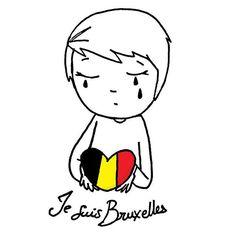 Il n'y a pas de mots.... L'horreur toujours... #jesuisbruxelles