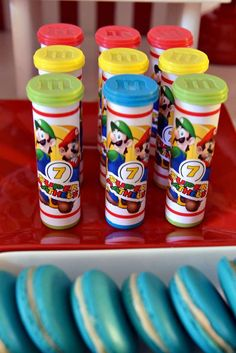 Super Mario Bros Birthday Party Ideas | Photo 12 of 53 | Catch My Party