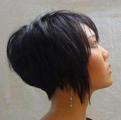 Inverted Bob Back View - Trendy
