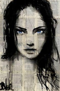 Buy azure, Ink drawing by Loui Jover on Artfinder. Newspaper Art, Tinta China, Types Of Art, Creative Art, Artwork Online, Amazing Art, Book Art, Saatchi Art, Original Art
