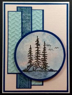 IC475 lake retreat by BarbieP - Cards and Paper Crafts at Splitcoaststampers