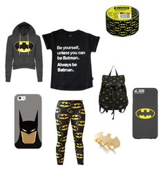 """Batman"" by lkr82203 ❤ liked on Polyvore featuring Casetify and Noir"
