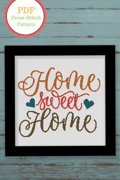Home Sweet Home Cross Stitch Pattern Quote Xstitch Etsy Cross Stitching, Cross Stitch Embroidery, Embroidery Patterns, Cross Stitch Quotes, Cross Stitch Charts, Modern Cross Stitch Patterns, Cross Stitch Designs, Sweet Home Design, Pattern Quotes
