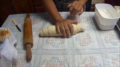 Segue a receita do pão que a minha mãe fez.... 50 grs. de fermento biológico 10 colheres de sopa de açúcar 1 colher sopa de sal 3 ovos (temperatura ambiente)...