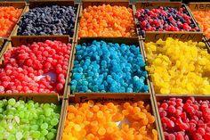 candy shop/gumdrops