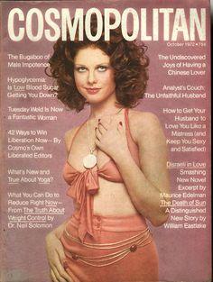 Cosmopolitan magazine, OCTOBER 1972 Model: Patricia Dow Photographer: Francesco Scavullo