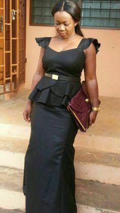 kaba and slit style for funeral this is a nice african dress worn