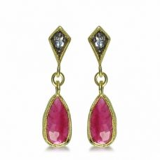 Mirabel earrings Pink Jewelry, Pretty In Pink, Spotlight, Art Pieces, Drop Earrings, Jewels, Stone, My Style, Beautiful