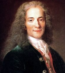Voltaire's works taught Catherine how to survive and laugh and rule