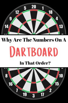 No matter their level of skill or experience, every single darts player will at one point or another wonder: Why are the numbers on a dartboard in that order? Darts Game, Dart Board, Useful Life Hacks, Guy Names, Numbers, How To Remove, Christmas Cactus, Backyard Games, Couple