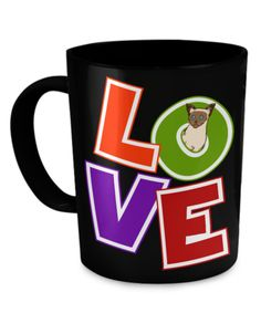 """New!! """"Love - Is not a simple word"""" (High Quality Mug)"""