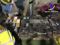Intervenidos 900 kilos de cocaína procedente de Colombia en cajas de bananas