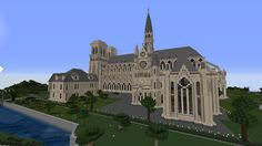 Minecraft Create, Minecraft Buildings, Mansions, House Styles, Manor Houses, Villas, Mansion, Palaces, Mansion Houses