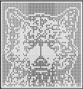 wolf pup crochet afghan pattern
