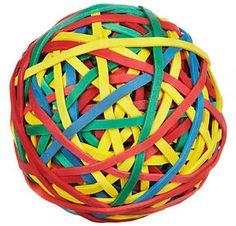 Unbranded Rubber Band Ball