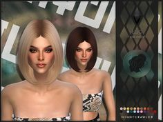 Cabelos curtos/ Short hair The Sims 4 Hair The Sims 4, The Sims 4 Pc, Sims Hair, Sims 4 Mods Clothes, Sims 4 Clothing, Sims Mods, Sims 4 Tsr, Sims Cc, Zoella Hair