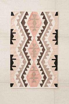 Plum & Bow Samarkand Kilim Woven Rug