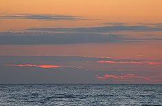 Baltic sea, Sarbinowo, Poland.