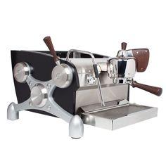 Totally rad machine. Can get custom colored.  Clive Coffee: Slayer 1-Group Espresso Machine