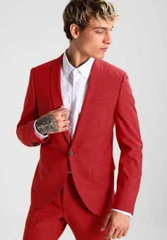 """Care instructions:Dry clean only. Sleeve length:Extra """" (Size Back """" (Size outer leg length:. Skinny Fit Suits, Business Men, Men's Wardrobe, Suit And Tie, Fabric Material, Mens Suits, Blazer, Legs, Fitness"""