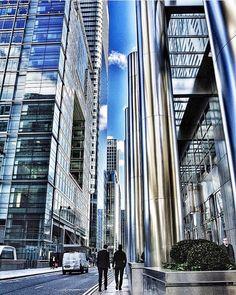 Good morning London #canarywharf #london #unitedkingdom by alinsg11