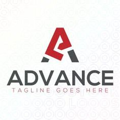 Logo Design of a stylized letter A For Sale On StockLogos   Advance logo