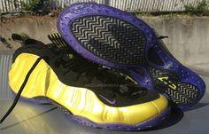 online retailer 56634 57baf Cheap Foamposite Pro Lemon Black Purple Basketball Shoes 314996 001 Pro  Basketball, Purple Basketball Shoes
