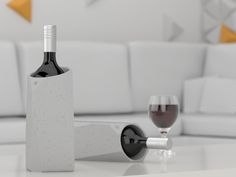 IntoConcrete | Corvi Concrete Wine Cooler $75 | Get paid up to 10.6% Cashback when you shop online at ahalife.com with your DubLi membership. Not a member? Sign up for FREE at www.downrightdealz.net!